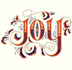 joy name tattoo design