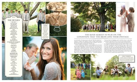 Featured In Town Amp Country Weddings