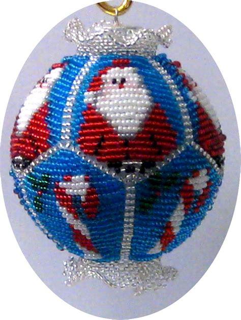 bead store santa beaded ornament kit santa