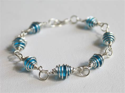 how to make a bead bracelet how to make a caged bead bracelet emerging creatively