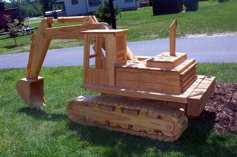 woodworking models pdf diy plans for wooden excavator plans for