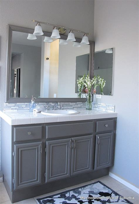 Bathroom Cabinet Paint Ideas by How To Paint Oak Cabinets