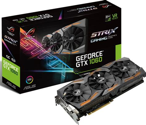 ASUS announces GeForce GTX 1060 STRIX   VideoCardz.com