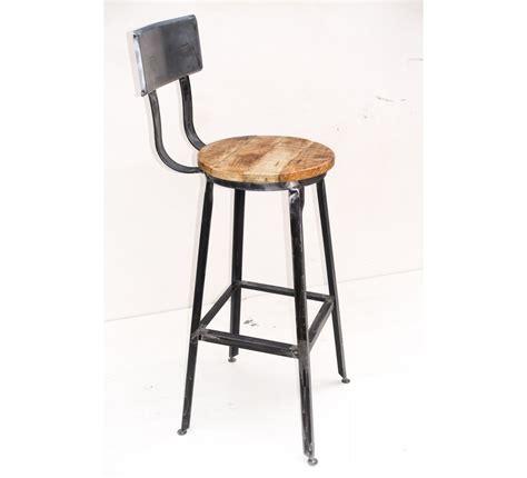 chaise de bar m 233 tal quot atelier gray quot 7013