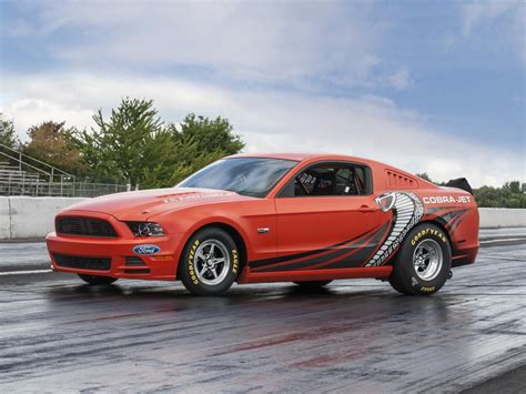 Ford Mustang Cobra Jet by 2014 Ford Mustang Cobra Jet Prototype Sells For 200k