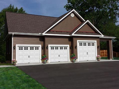 3 car garages plan 009g 0005 garage plans and garage blue prints from