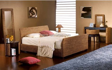 rattan bedroom furnitures sets rattan beds rattan