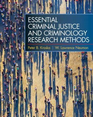 essential criminal justice and criminology research