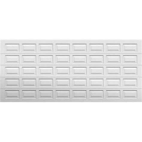 garage door panels home depot select collection gateway 16 ft x 7 ft panel white