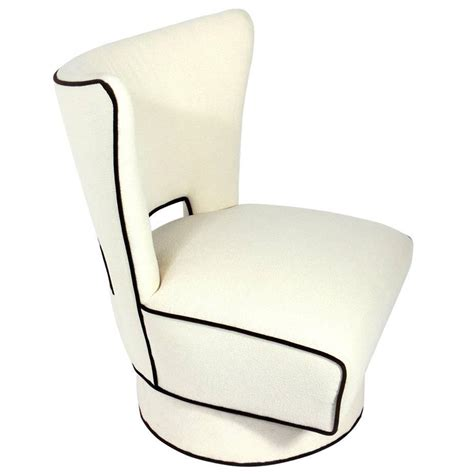 swivel modern chair large scale modern swivel lounge chair for sale at 1stdibs