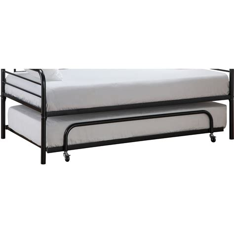 trundle bed metal frame new trundle guest bed metal frame size
