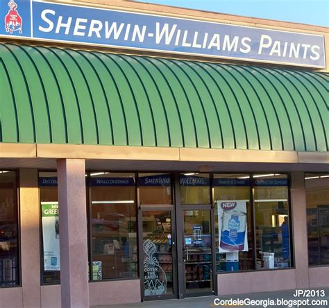 sherwin williams paint store cordele crisp watermelon restaurant attorney bank