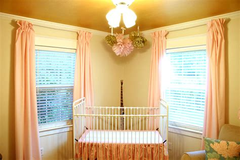 diy nursery curtains easy no sew diy curtains with pleats checking in with
