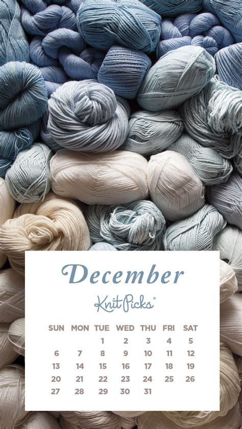 what does dec in knitting december 2015 wallpaper calendar knitpicks staff
