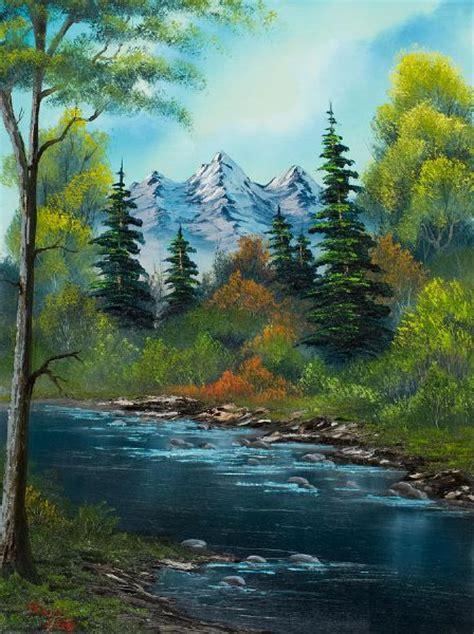 artist bob ross paintings for sale bob ross anglers paintings bob ross anglers