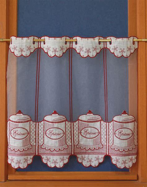 rideau de cuisine et blanc