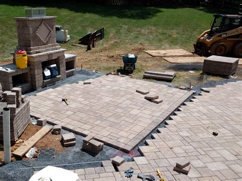 cost of patio pavers cost of paver patio paver cost landscaping network