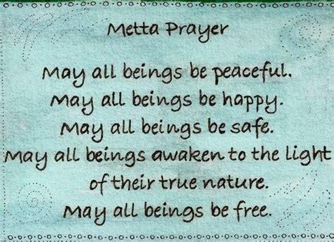 prayer buddhist metta prayer zen buddhism wisdom and