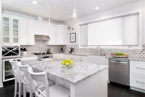 countertops with white kitchen cabinets wine rack in kitchen island contemporary kitchen