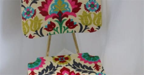 how to decoupage fabric on wood quot upholster quot a wood chair with fabric and mod podge hometalk