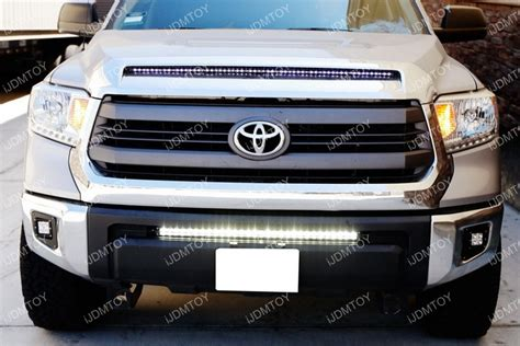 installing led light bar how to install toyota tundra led light bar system