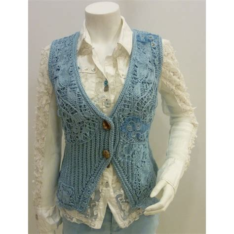 knitted waistcoat elisa cavaletti knitted waistcoat sc26200 buy elisa