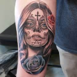 realistic sugar skull tattoos tattoo art design ideas