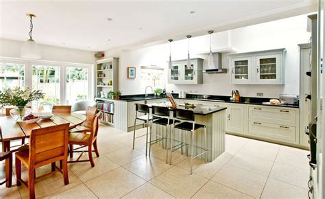 open plan kitchen diner ideas how to create an open plan house real homes