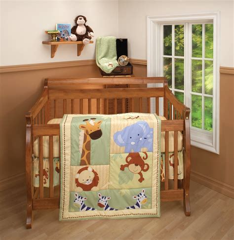 jungle theme crib bedding total fab jungle theme baby bedding