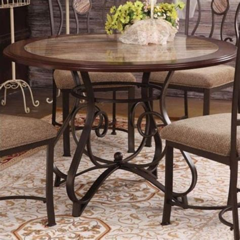 acme dining table acme furniture barrie dining table in cherry oak and