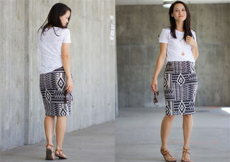 how to wear a knit skirt knit pencil skirt pattern re mix tutorial