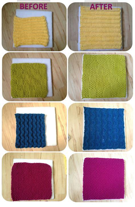 knit blocking tutorial blocking acrylic yarn a modicum of ingenuity