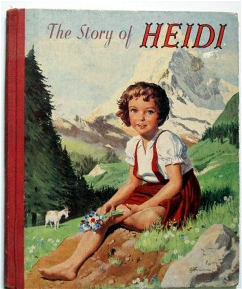 heidi picture book heidi this edition published in 1956 vintage children s