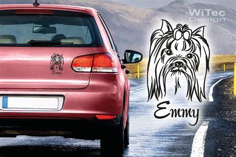Autoaufkleber Yorkshire by Hundeaufkleber Yorkshire Terrier Hundesticker Aufkleber
