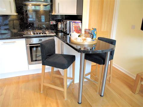 Wooden Kitchen Island Table standard self catering apartments croft mill 4 hotel b