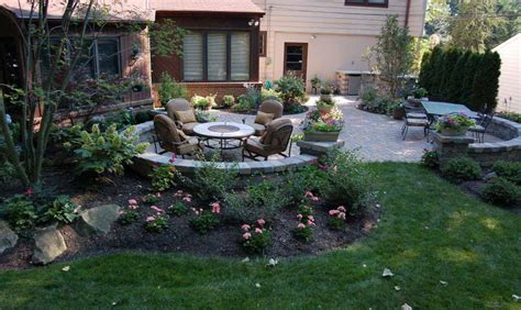 patio landscaping designs landscape arrangements for your house s front gardening