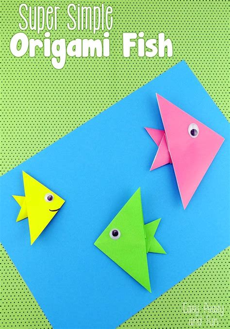easy paper craft 25 best ideas about origami fish on origami