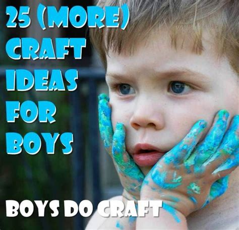 craft ideas for boys boy crafts ted s