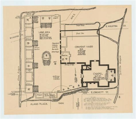 alamo floor plan 1836 93 best images about alamo and history on