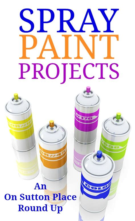 spray paint projects easy spray paint projects crafts on sutton place