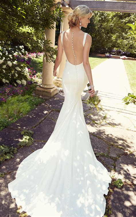 wedding dresses 12 beautiful backless wedding dresses gowns