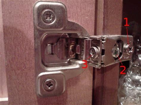 adjusting cabinet door hinges kitchen cabinet door hinges adjustments roselawnlutheran