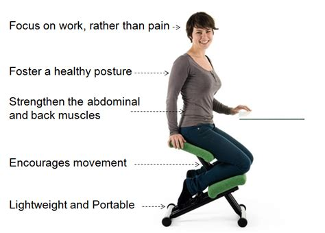 benefits of chair at work what are the benefits of kneeling chairs