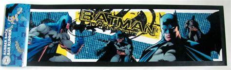 batman rubber st batman bat tough rubber back bar runner mat
