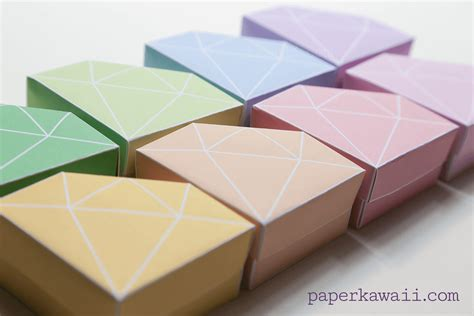 where can i get origami paper free printable origami box tutorial paper kawaii