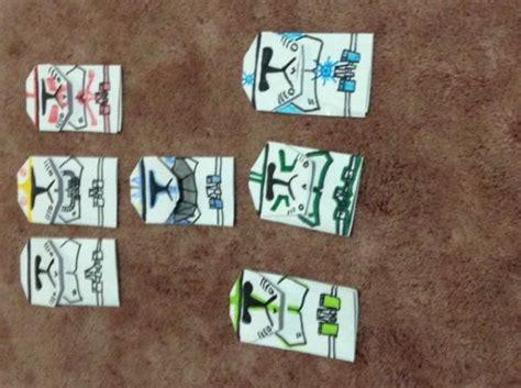 origami clone trooper 2nd generation clone troopers origami yoda