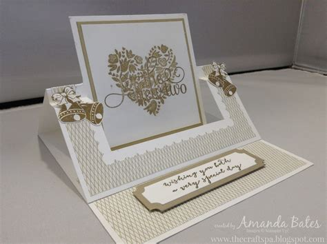 how to make an easel card the craft spa stin up uk independent demonstrator