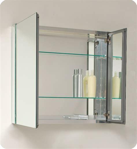 bathroom medicine cabinet with mirror 29 75 quot fresca fmc8090 medium bathroom medicine cabinet w