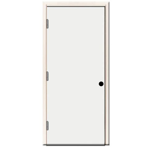 24 inch exterior door home depot steves sons 32 in x 80 in premium flush primed white