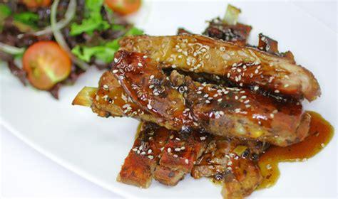 como cocinar costilla de cerdo costilla de cerdo al teriyaki nestl 233 a gusto con la vida